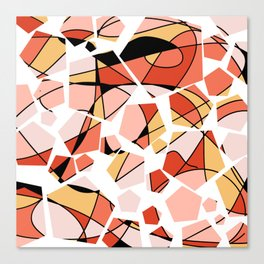 Geo Pop Canvas Print