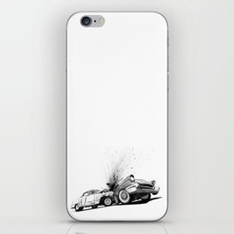 CRASH iPhone Skin