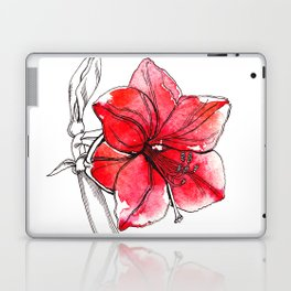 Red Lily Laptop & iPad Skin