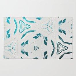 Chillin Blue Pattern Rug