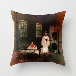 The Nurse - A Ghost Story Throw Pillow
