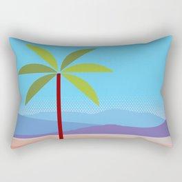 Phoenix AZ Desert Travel Poster Rectangular Pillow