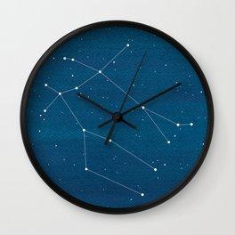 Gemini zodiac constellation Wall Clock