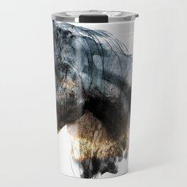 Horse (Into the wild) Travel Mug