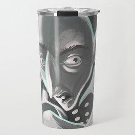 creepy spooky nosferatu Travel Mug