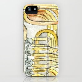 Tuba Tubs iPhone Case