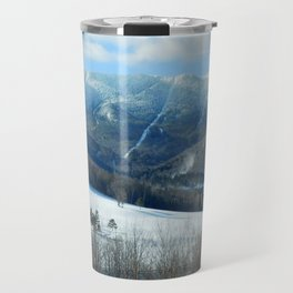 Ski Trails at Sugarbush Resort, Vermont Travel Mug