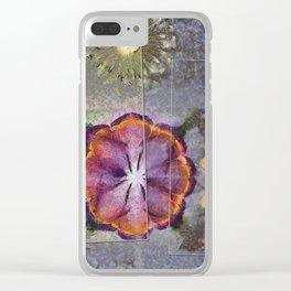 Stickball Au Naturel Flower  ID:16165-150329-07211 Clear iPhone Case