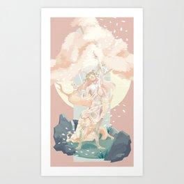 Gods - Skwisgaar Art Print