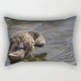 Duck sees you Rectangular Pillow
