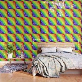 Rainbow Love Symbol Mandala Wallpaper