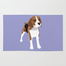 Beagle - Lilac Rug