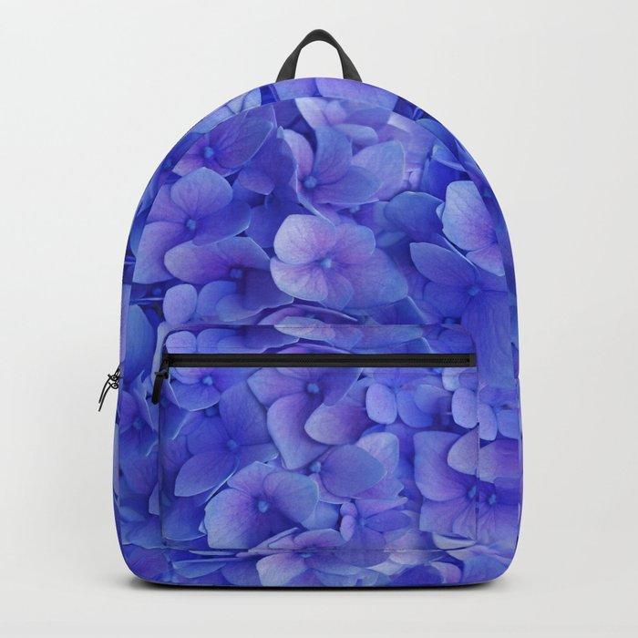 Hydrangea blue Backpack