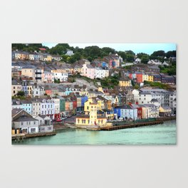 Colorful Cobh Ireland Canvas Print