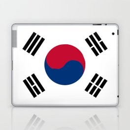 South Korean Flag Laptop & iPad Skin