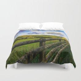 Evening Landscape Duvet Cover