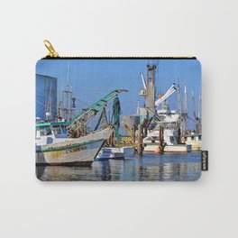 Galveston Fishing Boats Carry-All Pouch