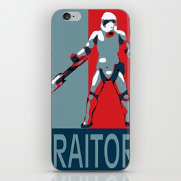 TRAITOR! iPhone Skin