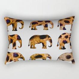 CHEETAH ELEPHANTS Rectangular Pillow