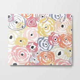 Colorful Flower Bundle Metal Print