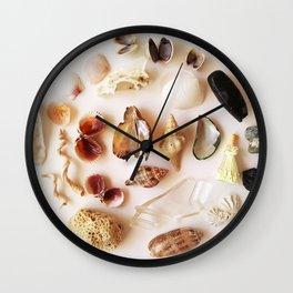 Gull Skull with Plastic Princess Wall Clock
