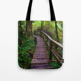 Walks through the Rainforest on Vancouver Island, Canada Tote Bag