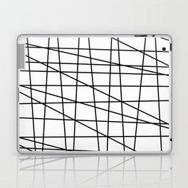 Gossamer. Black and white.2 Laptop & iPad Skin
