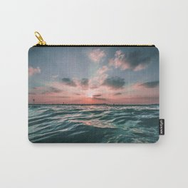 Sunset Tide Carry-All Pouch