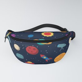 Space Pattern Fanny Pack