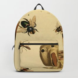 Bees Wasps And Honeycomb Backpack