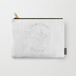 In the name of the Moon Carry-All Pouch