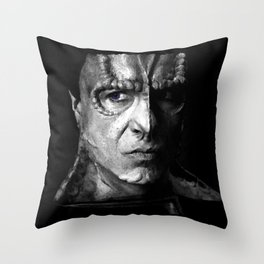 the Reluctant Hero Throw Pillow