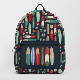 Surf's Up in the 1950's Backpack