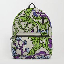 Spring Garden Mandala in Ultra Violet Backpack