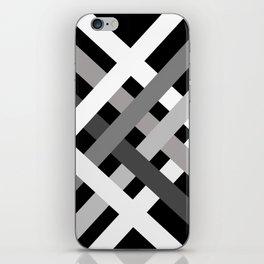 BNW Criss Cross iPhone Skin