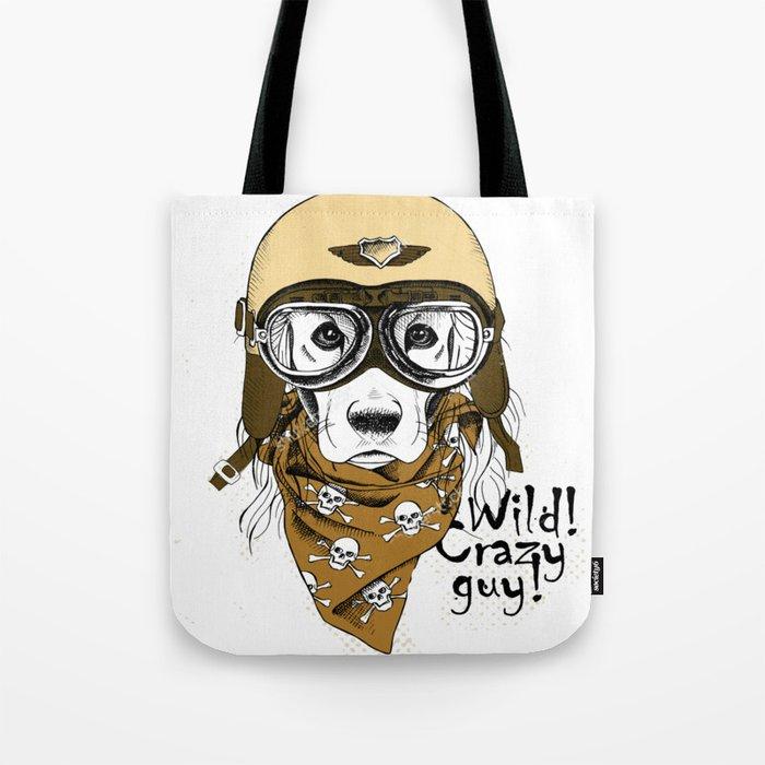 Wild! Crazy Guy Tote Bag