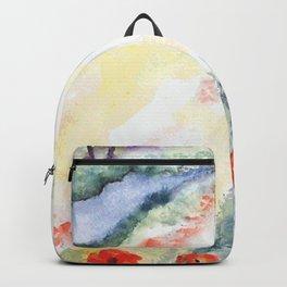 VINTAGE LADY Pop Art Backpack