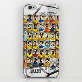 Legends of Football (Soccer). iPhone Skin