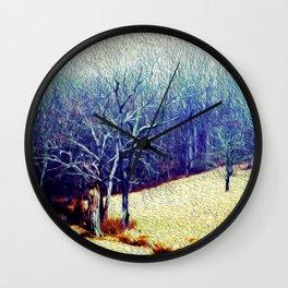 Brandywine Landscape Wall Clock
