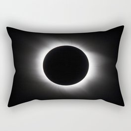 Solar Eclipse Rectangular Pillow