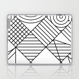 Whackadoodle White and black Laptop & iPad Skin