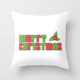 Merry Christmas - Christmas Cheer Throw Pillow