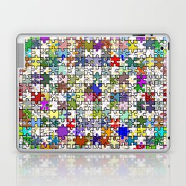 Jigsaw junkie Laptop & iPad Skin