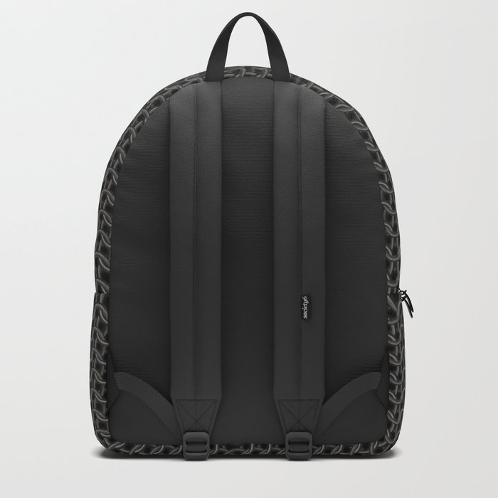 Chain Mail Texture Backpack