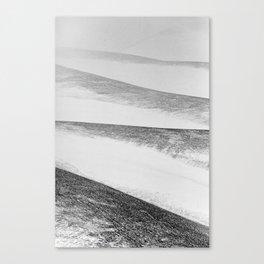 white mountains Canvas Print