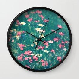 Chamomille Wall Clock