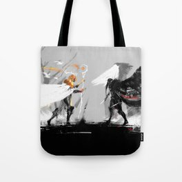 Vax and Keyleth Tote Bag