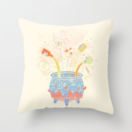 Dream Potion Throw Pillow