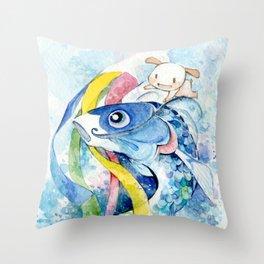 Nemu's Tango no Sekku 2015 Throw Pillow