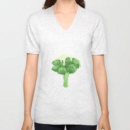 Broccoli & Cheese Unisex V-Neck